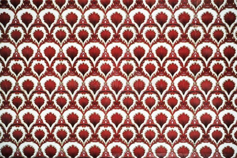 Türkische Kunst der Osmane mit geometrischen Mustern lizenzfreie stockbilder