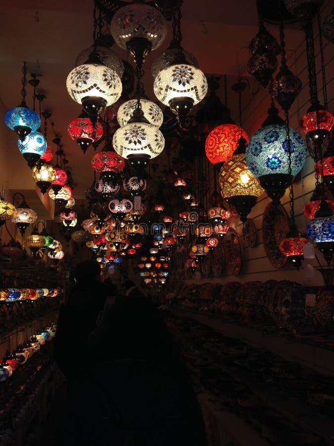 Türkische Laternen lizenzfreies stockfoto