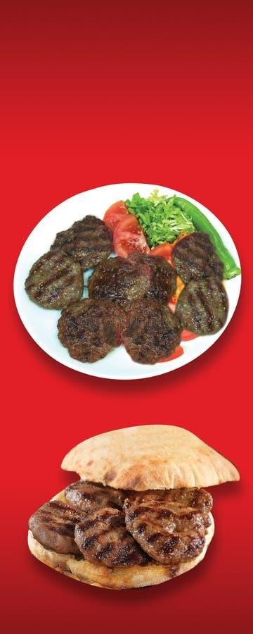 Türkische Nahrungsmittel, die Türkischen sprechen: tà ¼ rk yemekleri, doner, stockfotos
