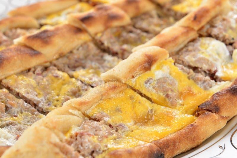 Türkische Pizza stockfotos