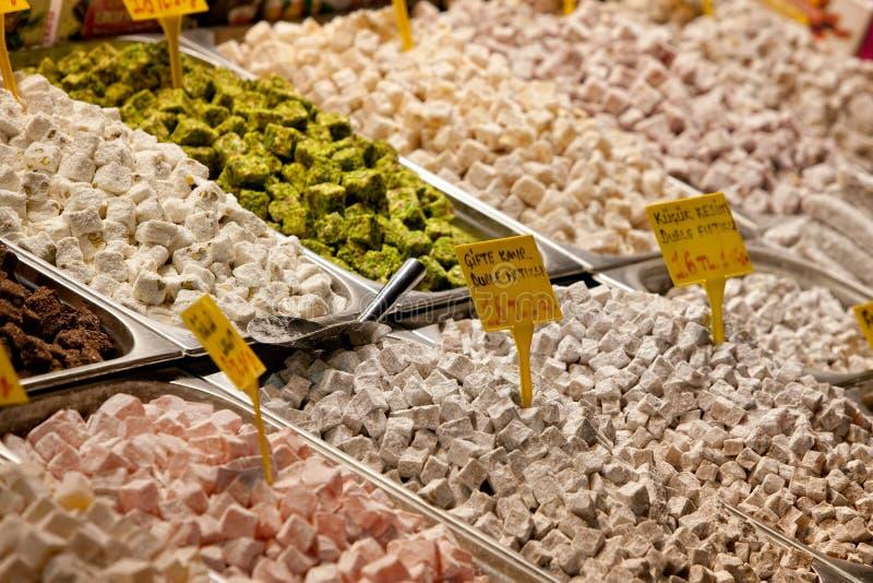 Türkische Süsse. Istanbul, die Türkei. stockfoto