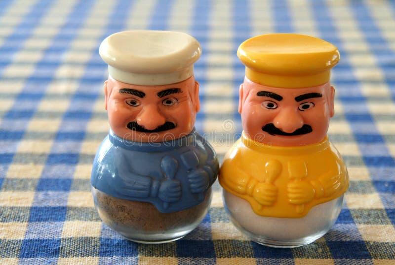 Türkische Salz- und Pfefferrüttler lizenzfreie stockbilder