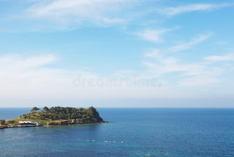 Türkische touristische Insel stockfotos