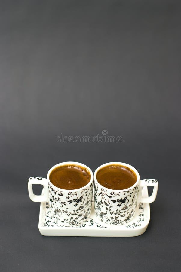 Download Türkischer Kaffee In Zwei Cup Stockfoto - Bild von morgen, getränk: 26353556