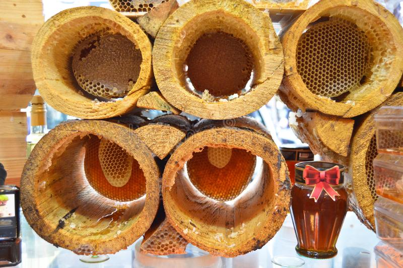 Türkischer karakovan Honig Organisch und natürlich stockfotografie