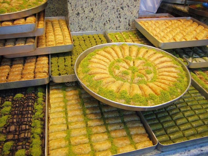 Türkisches Baklava lizenzfreies stockbild