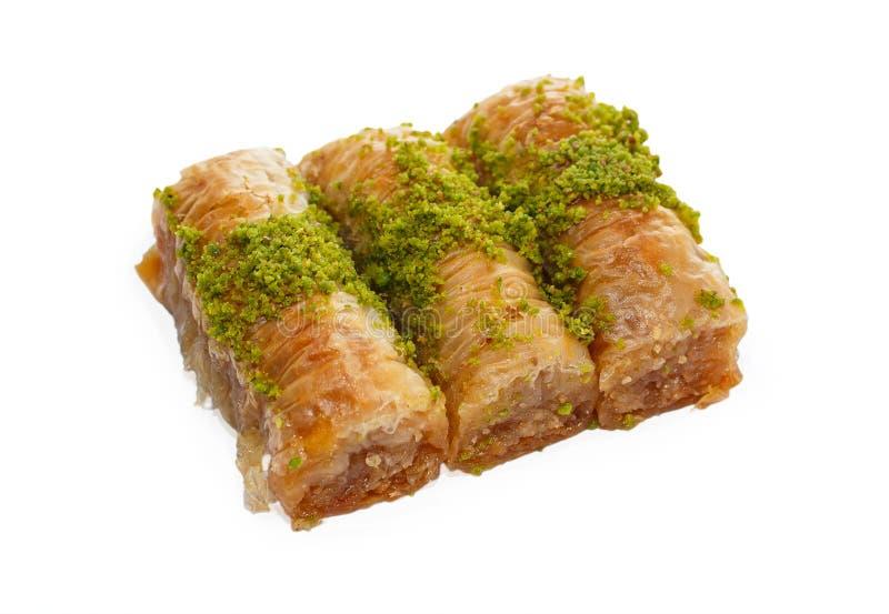Türkisches Baklava 1 lizenzfreie stockbilder