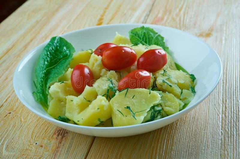 """Türkisches Kartoffel-Salat †""""Patates Salatası lizenzfreie stockbilder"""