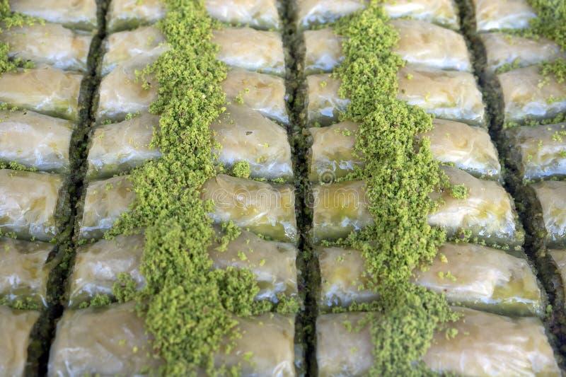 Türkisches Nachtisch-Baklava, die Türkei stockfotografie