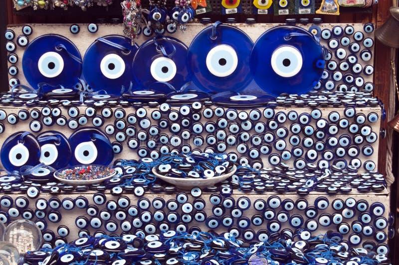 Türkisches schlechtes Auge stockbild
