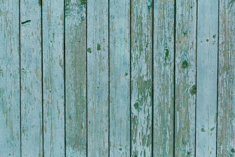 Türkisholz-Beschaffenheitshintergrund, hölzernes Brett der Draufsicht lizenzfreie stockbilder