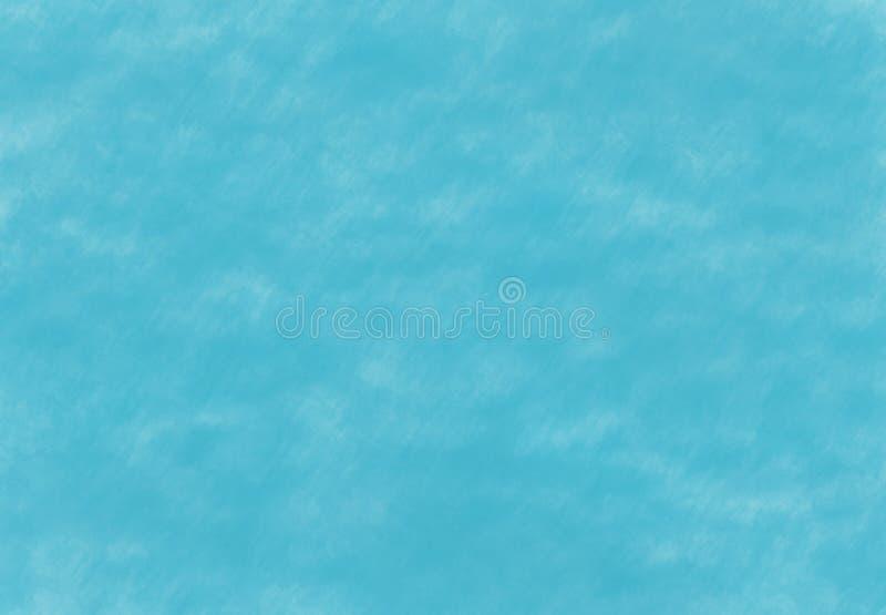 Türkisknickentenminzengrünaquarellschmutz-Unschärfesegeltuch stock abbildung