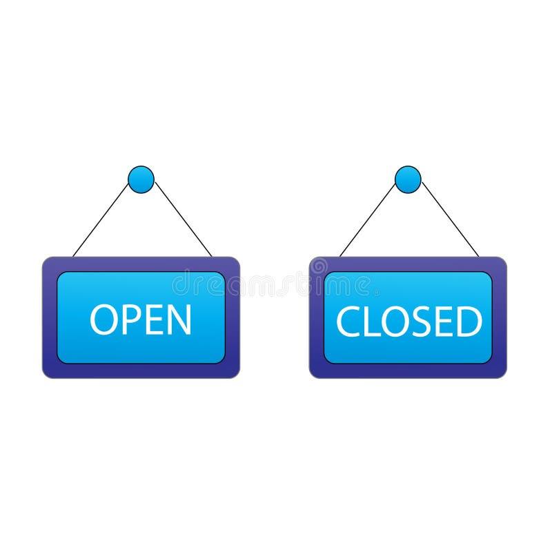 Türzeichen lizenzfreie abbildung