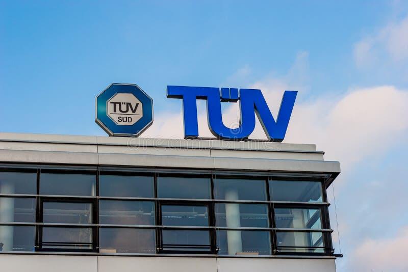 TÜV Duitsland - Vereniging voor technische inspectie stock afbeeldingen