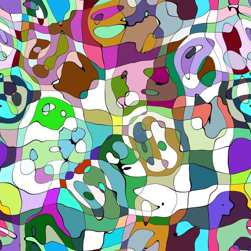 tęcza abstrakcyjna ilustracja wektor