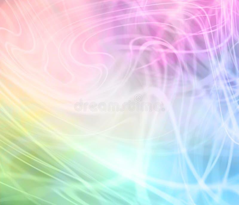 Tęcza Barwiąca Wirujący Graficznego tło royalty ilustracja