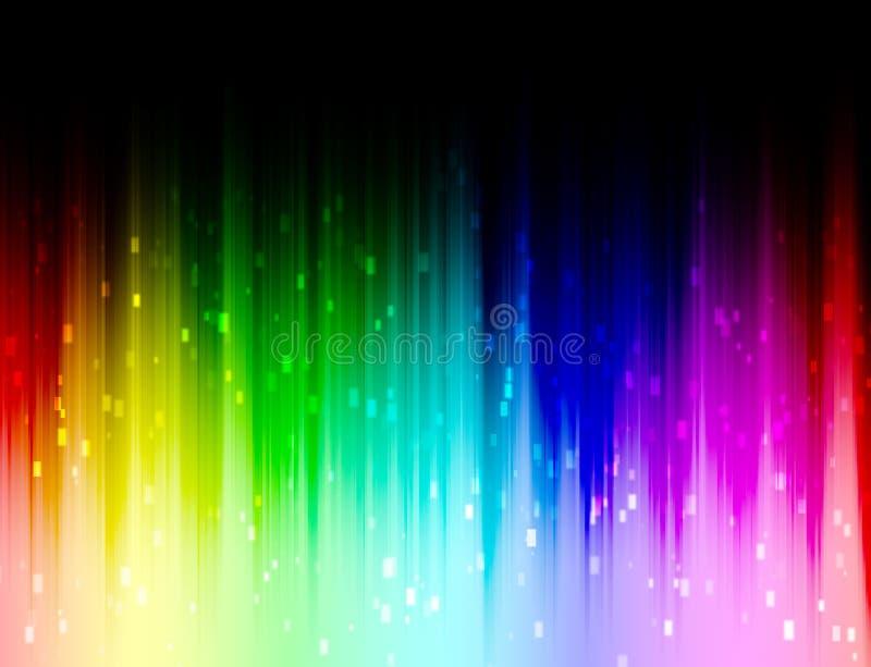 Tęcza koloru tło zdjęcie stock