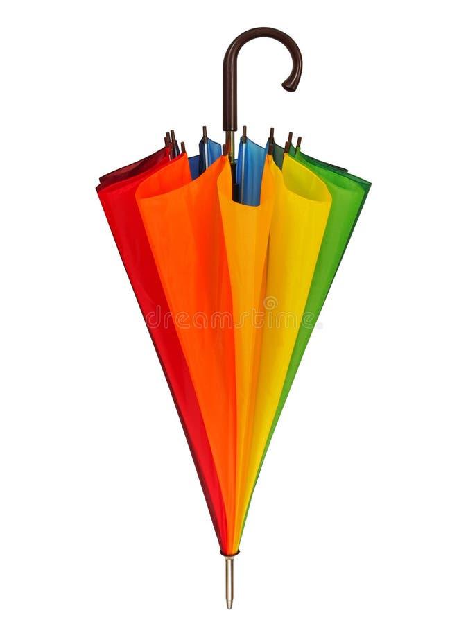 tęcza parasolkę zdjęcia stock