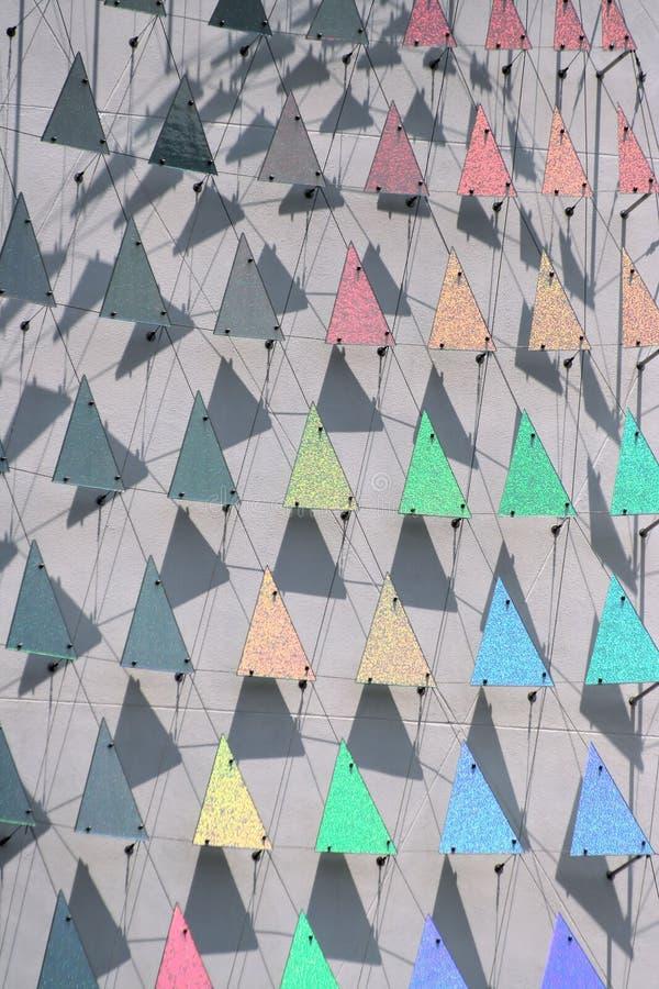 tęcza trójkąty obraz stock