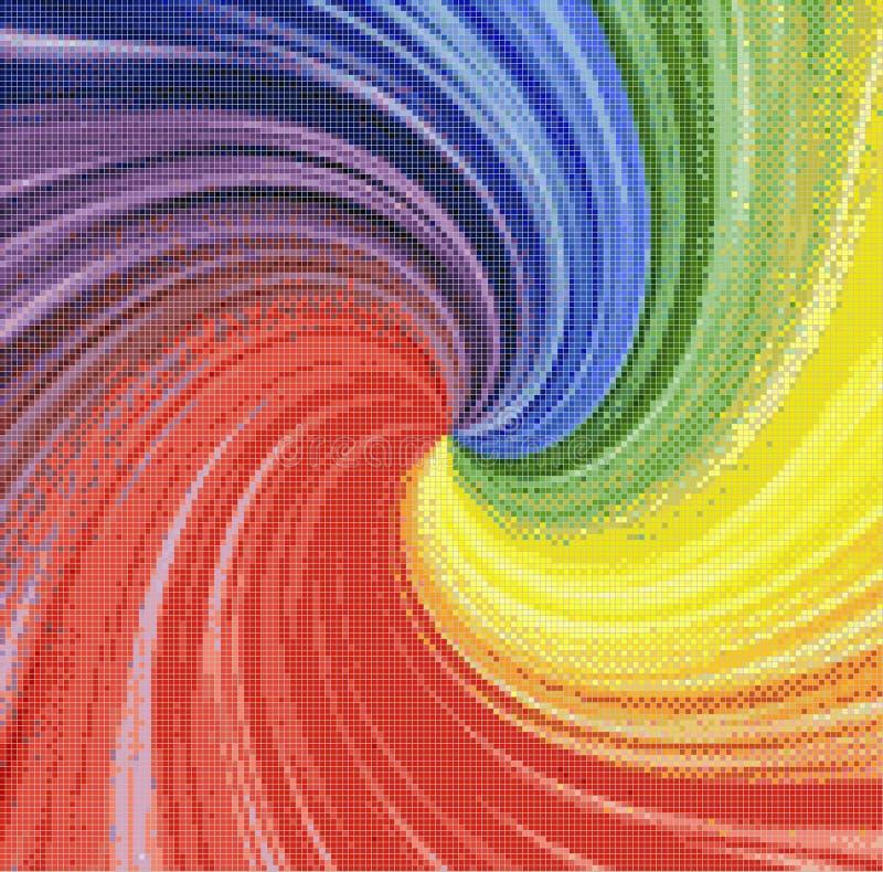 Tęczy vortex obrazy stock