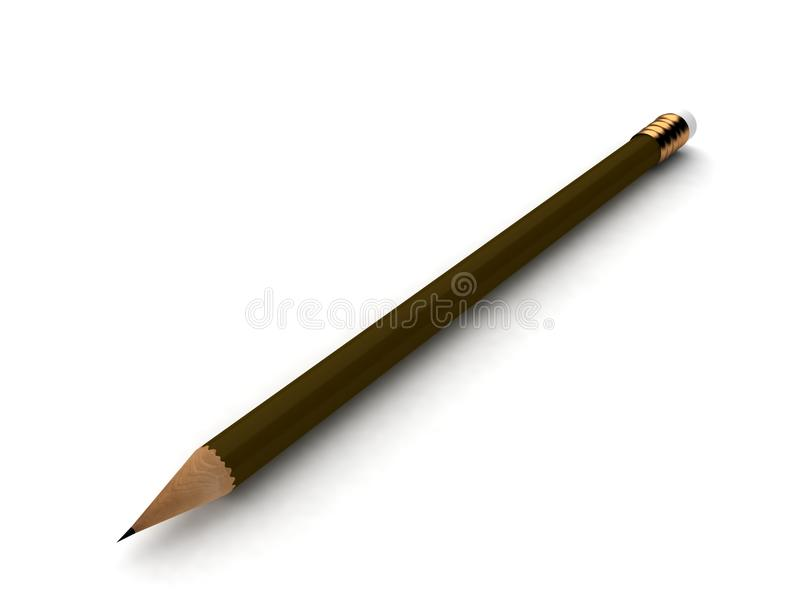 tęsk ołówek obraz stock