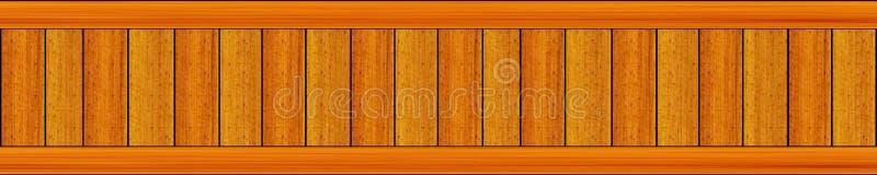 Tęsk panel panorama pstrząca z jaskrawych kolorów pionowo deskami royalty ilustracja