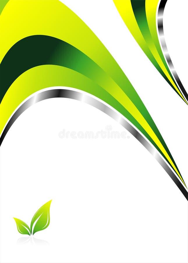 tła środowiska zieleń ilustracji