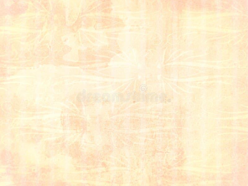 tła światła ornamentu brzoskwinia ilustracja wektor