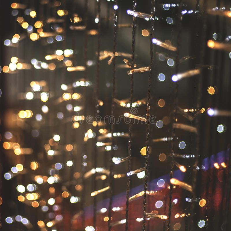 tła żarówek bożych narodzeń światła wizerunku światła obraz royalty free