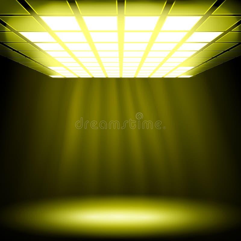 tła abstrakcjonistyczny światło ilustracja wektor
