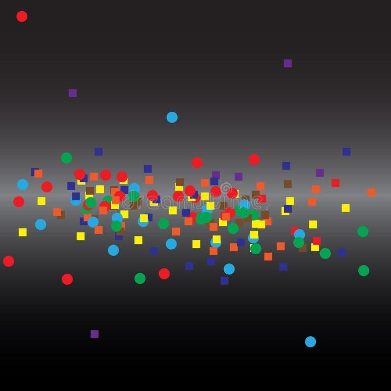tła abstrakcjonistyczny binary royalty ilustracja