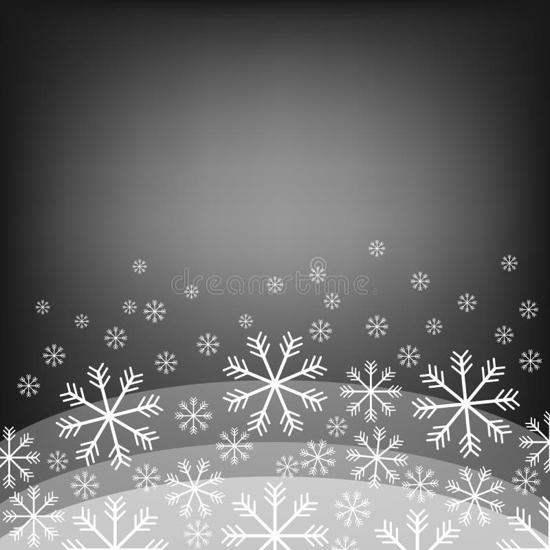 tła abstrakcjonistyczny bokeh jaskrawy płatek śniegu piękne święta ilustracji projektu wektora również zwrócić corel ilustracji w royalty ilustracja