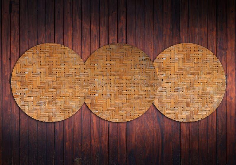 tła azjatykci drewno fotografia stock