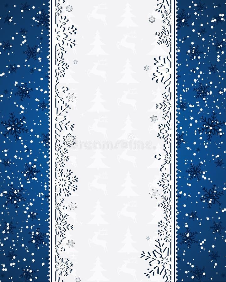 tła błękit boże narodzenia ilustracja wektor