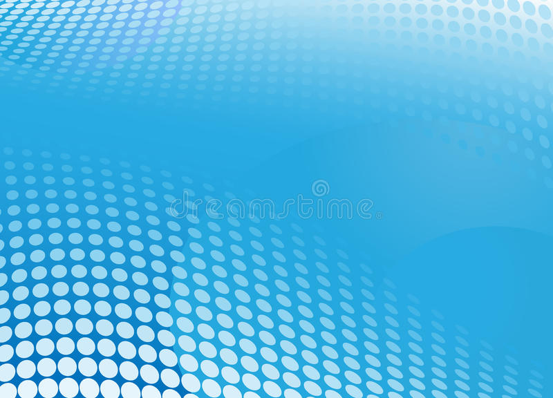 tła błękit halftone ilustracji