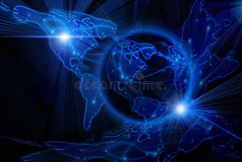 tła błękit internety royalty ilustracja