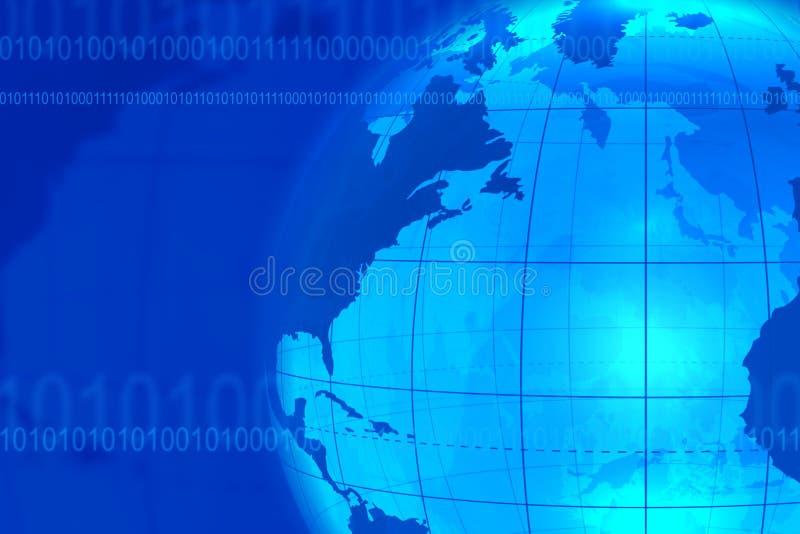 tła błękit komunikacja biznesowa royalty ilustracja