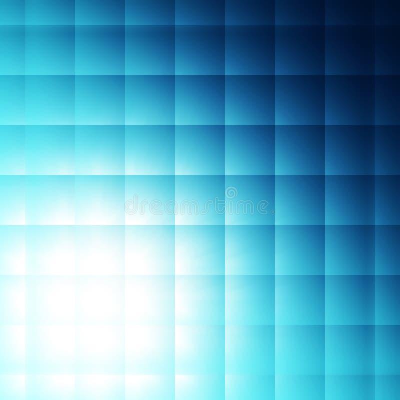 tła błękit kwadraty ilustracji