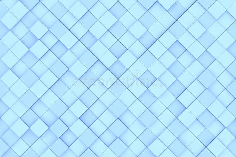 tła błękit wzoru kwadrat ilustracja wektor