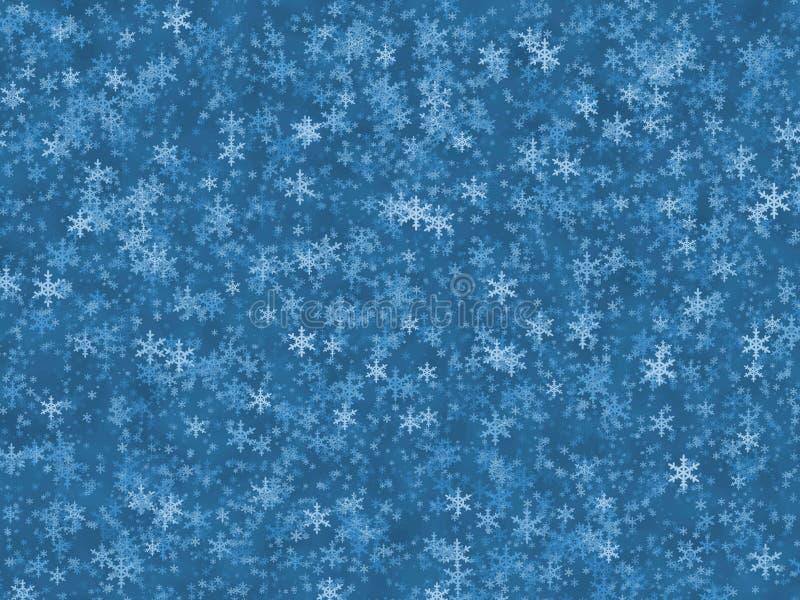tła błękit zima ilustracji
