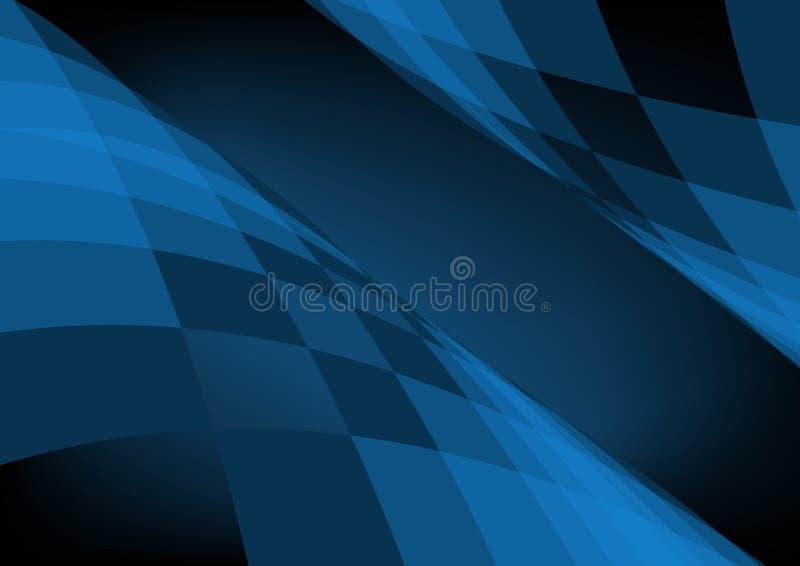 tła błękit zmrok royalty ilustracja