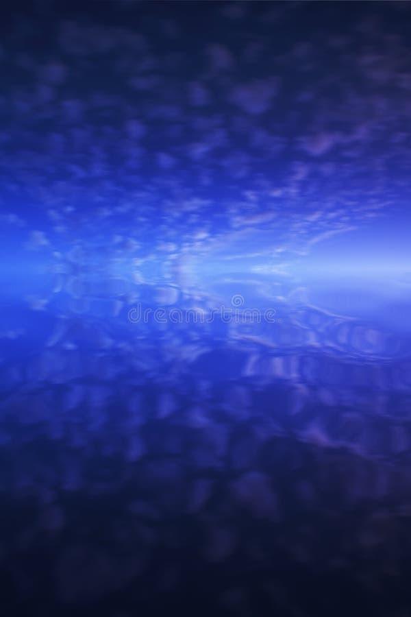 tła błękitny odbicia niebo obraz royalty free