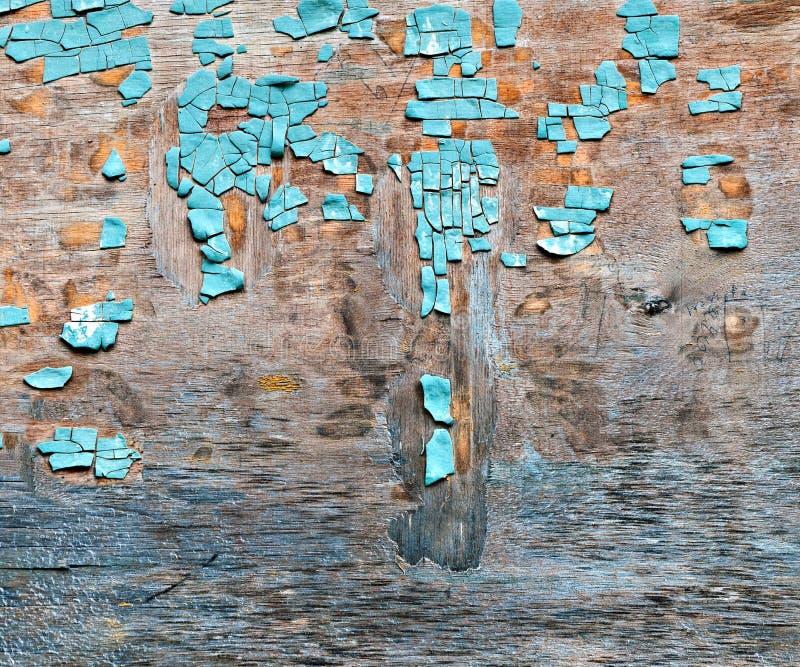 tła błękitny płatkowata farby dykta obraz stock