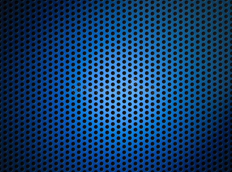 tła błękitny siatki grille kruszcowy fotografia royalty free