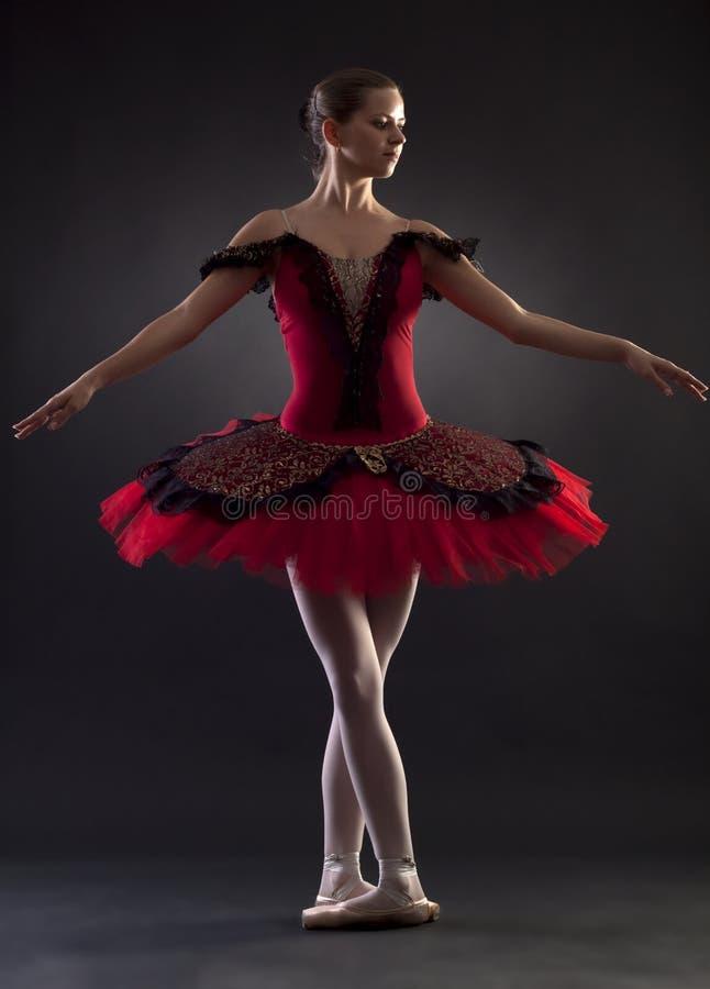 tła baleriny czarny target2366_0_ zdjęcia stock