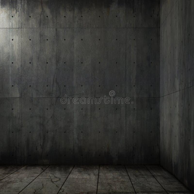 tła betonowy grunge pokój royalty ilustracja