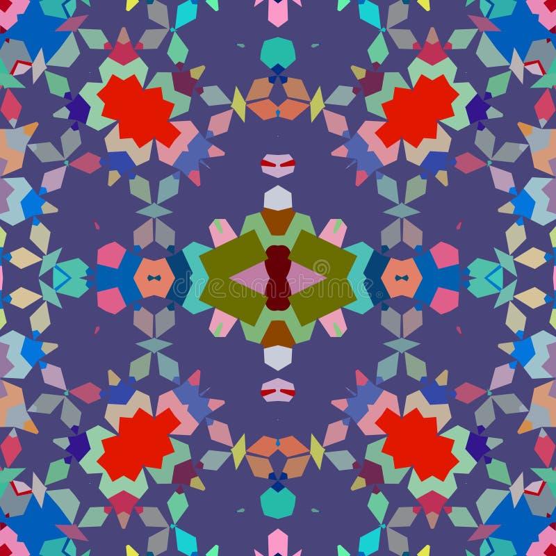 tła bezszwowy geometryczny royalty ilustracja