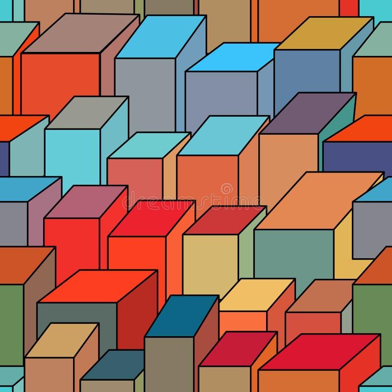tła bezszwowy geometryczny ilustracji