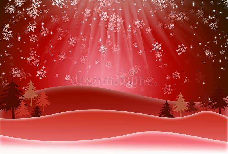 tła bożych narodzeń płatków śnieg 8 dodatków eps formata raster tam wektorowa wersja royalty ilustracja