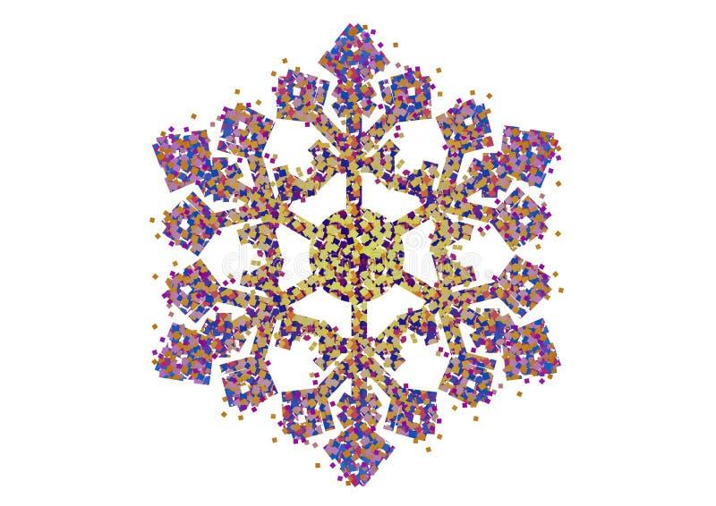 tła bożych narodzeń zamknięty odosobniony płatek śniegu w górę biel obrazy royalty free